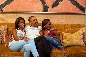 «Είναι πιο δύσκολο να είσαι πατέρας, παρά πρόεδρος»