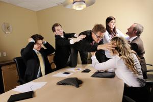 Οι συγκρούσεις σε έναν εργασιακό χώρο