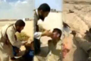 Εκτέλεση ιρακινών στρατιωτών από τζιχαντιστές