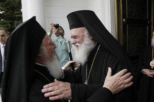 """«Δεν είστε μόνο ο """"πράσινος"""" Πατριάρχης, είστε ο Πατριάρχης της αγάπης»"""
