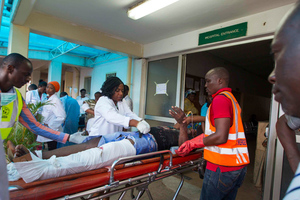 Αιματηρή έκρηξη βόμβας έξω από τράπεζα στη Νιγηρία