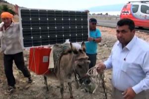 Hi-tech αγρότες με... φωτοβολταϊκά γαϊδούρια