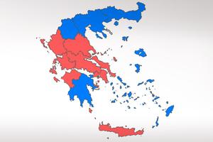 Διαφωνούν για το χρώμα του εκλογικού χάρτη