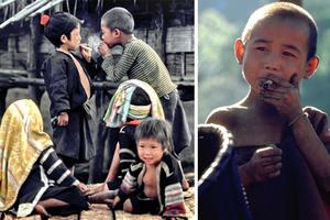 Μια χαμένη φυλή με παιδιά-καπνιστές