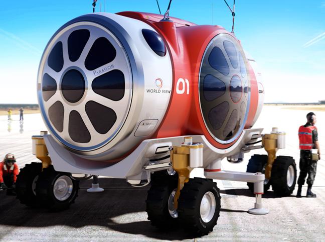 Πολυτελή μπαλόνια θα κάνουν τα διαστημικά ταξίδια δυνατά!