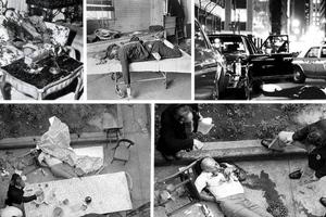 Οι αιματοβαμμένες σκηνές εγκλήματος της Μαφίας