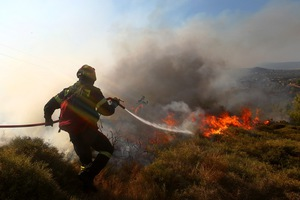 Υπό έλεγχο η φωτιά στη νότια Λακωνία