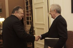 Συγχαρητήρια Μόντι για την ελληνική προεδρία της Ε.Ε.