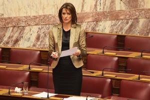 Υπερψήφισε Δήμα η Κατερίνα Μάρκου