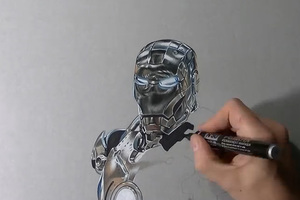 Ζωγραφίζοντας τον Ironman
