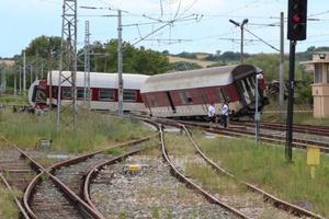 Εκτροχιασμός τραίνου στη Βουλγαρία