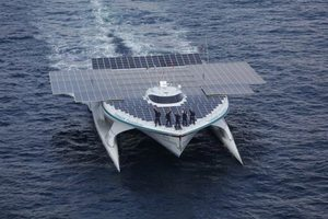 Το«MS Turanor PlanetSolar» θα δέσει στον  Πειραιά