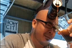 «Μετωπική» με τη μπίρα