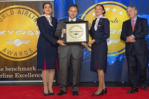 Καλύτερη περιφερειακή αεροπορική εταιρεία της Ευρώπης η Aegean