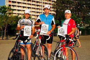 Έφτασαν στην Τραπεζούντα οι Θεσσαλονικείς ποδηλάτες