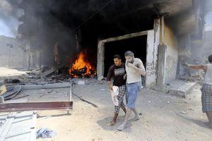 Ανθρωπιστική καταστροφή στη Γάζα