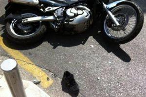 Γυναίκα παρασύρθηκε από μηχανή στο Πευκί Ευβοίας