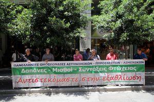 Επαναφορά μισθών στο επίπεδο του 2012 ζητούν οι ένστολοι