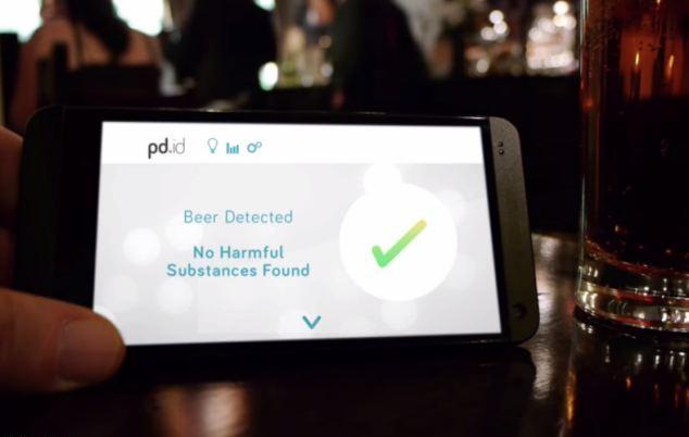 Συσκευή αναγνωρίζει αν υπάρχουν περίεργες ουσίες στο ποτό σας