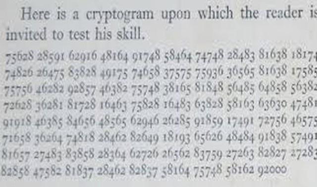 D'Agapeyeff Cipher