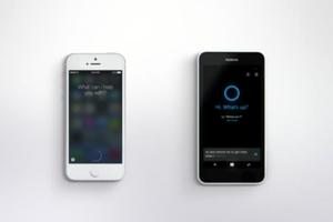 Η Microsoft συγκρίνει την «Cortana» με τη «Siri»