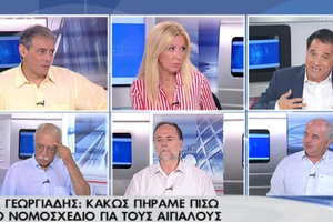 Γεωργιάδης: Κακώς πήραμε πίσω το νομοσχέδιο για τους αιγιαλούς