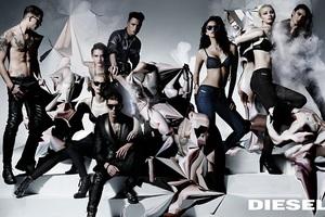 Νέα διαφημιστική καμπάνια της Diesel με πρωταγωνιστή τον Colton Haynes