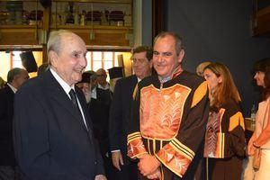 Το χρυσό μετάλλιο του Πολυτεχνείου Κρήτης στον Κωνσταντίνο Μητσοτάκη