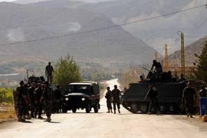 Λιβανική επιχείρηση κατά του ISIS στα σύνορα με τη Συρία