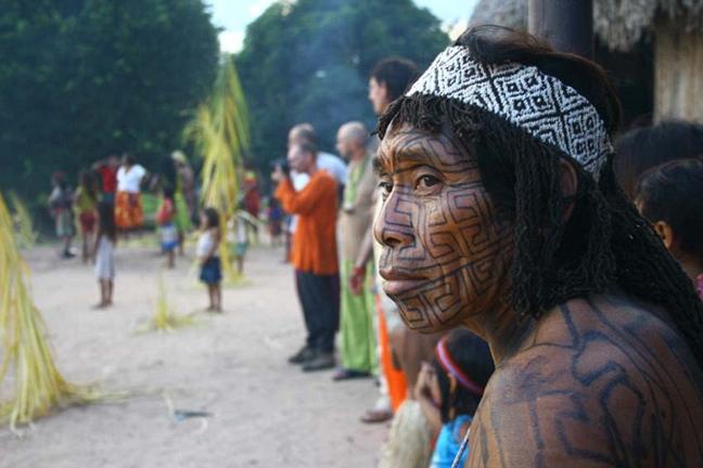 Στα άδυτα μιας άγνωστης φυλής του Αμαζονίου