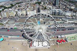 Μοναδικές εναέριες λήψεις από το Brighton