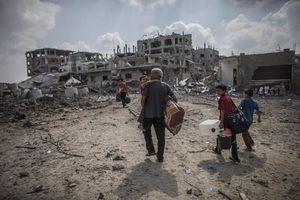Άστεγοι περίπου 100.000 Παλαιστίνιοι στη Λωρίδα της Γάζας