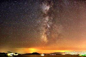 H μαγεία του νυχτερινού ουρανού