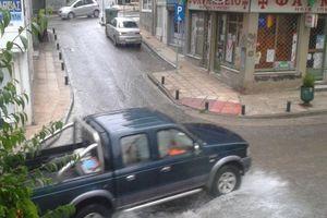 Πλημμύρισε η Κοζάνη