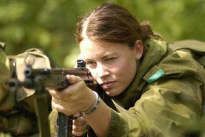 Τα κορίτσια του Νορβηγικού στρατού