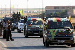 Παιχνίδια πολέμου της Τεχεράνης κοντά στο ιρακινό Κουρδιστάν