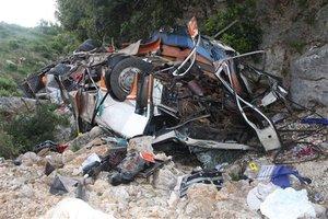 Βουτιά θανάτου για λεωφορείο στο Θιβέτ