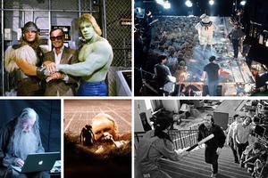 Παρασκηνιακές φωτογραφίες από λατρεμένες ταινίες