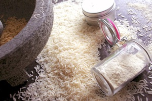 Αντιρυτιδική μάσκα με ρύζι