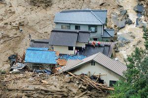 Φωτογραφίες από τις καταστροφές στη Χιροσίμα