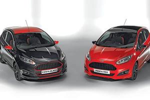 Από Σεπτέμβριο τα Ford Fiesta Red & Black Edition με 140 PS