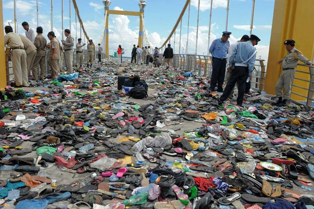 Η τραγωδία της γέφυρας στην Πνομ Πενχ