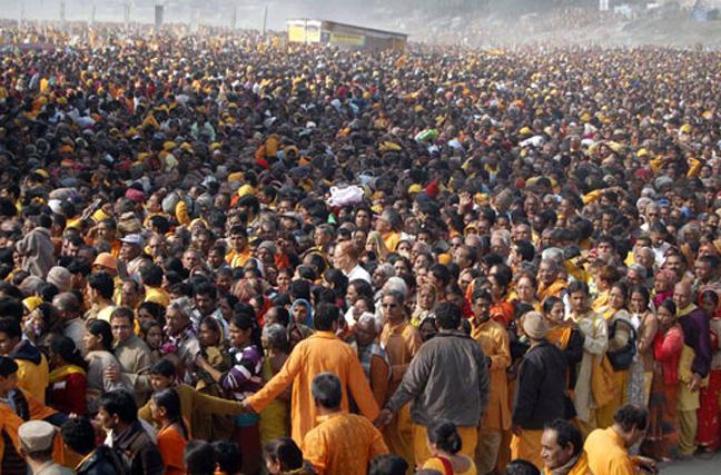 Το ποδοπάτημα σε ναό της Ινδίας