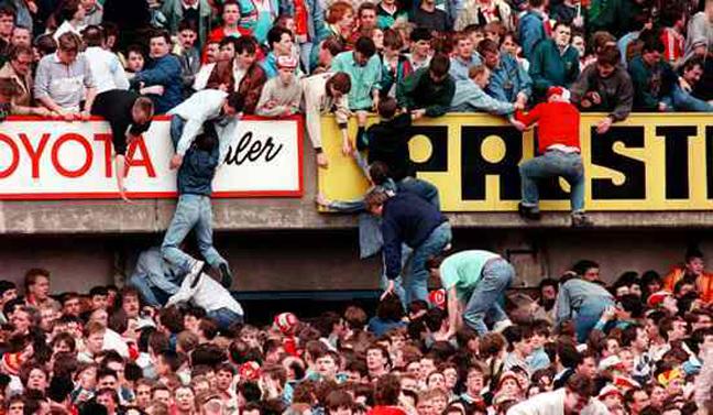 Η τραγωδία του Σταδίου Hillsborough