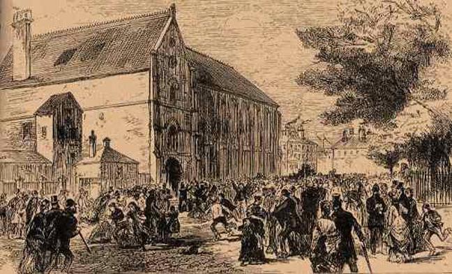 Το ποδοπάτημα στο Victoria Hall του Σάντερλαντ