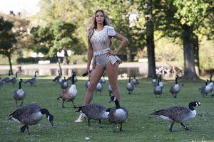 Η κέρινη Beyonce στο Regent's Park