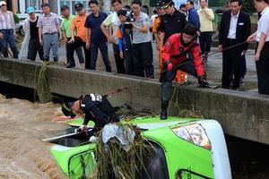 Πέντε νεκροί στις πλημμύρες της Νότιας Κορέας