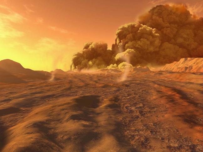 Ο Άρης έχει τις πιο βίαιες αμμοθύελλες του ηλιακού μας συστήματος