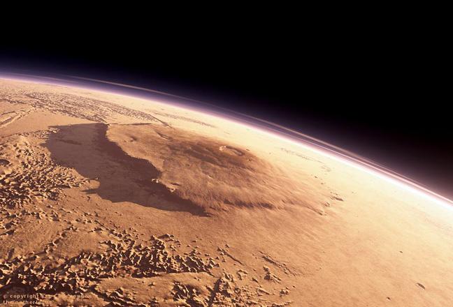 Ο Άρης έχει το μεγαλύτερο ηφαίστειο του ηλιακού μας συστήματος