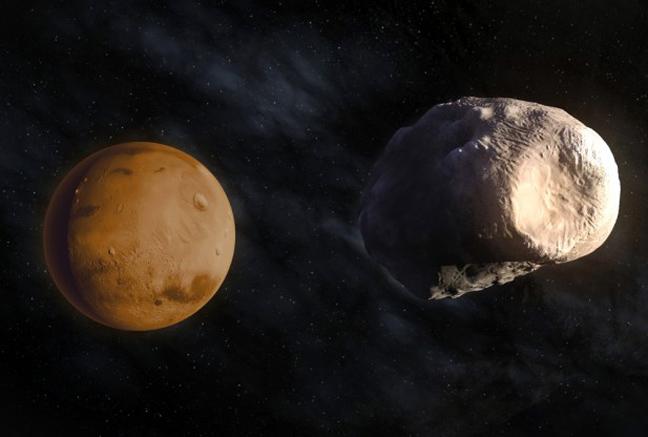 Ο Άρης θα «φάει» κάποια στιγμή ένα από τα φεγγάρια του